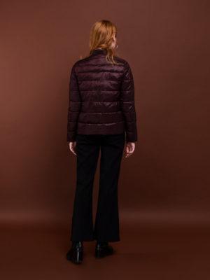 Короткая куртка - Марсала